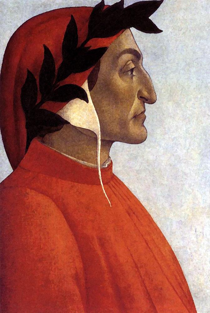 Dante Alighieri Vernaccia San Giminiano